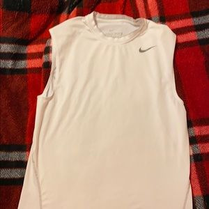 Nike Pro combat dri fit fitted muscle tee